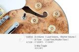 Факел клена 335 стиле Semi Пустотелых джазовый гитарист