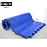 Correia transportadora modular plástica lisa limitada da largura da dobradiça de Hairise Singel