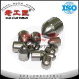 Dientes Cuchara-Shaped excéntricos del carburo cementado del tungsteno