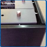 esquina de interior pH4 visualización de LED a todo color de 90 grados