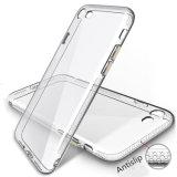 Spot transparente TPU Teléfono celular caso para el iPhone 6s