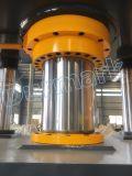 4개의 란 수채 소금 위성 접시 만들기를 위한 유압 곧게 펴는 펀칭기 알루미늄 형성 압박 기계 깊은 그림