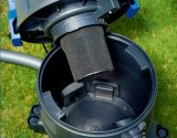 310-35L 1200W 플라스틱 탱크 소켓의 유무에 관계없이 젖은 건조한 물 먼지 진공 청소기 연못 세탁기술자
