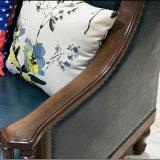 [أمريكن] حديث تصميم [جنوين لثر] أريكة لأنّ يعيش غرفة أثاث لازم [أس843]