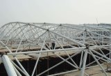 Estructura pintada prefabricada del braguero de la estructura de acero