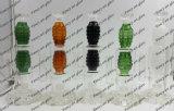 Schwere Granate-Glaswasser-Rohr-Pfeife für rauchendes Set