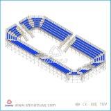 卸し売り競技場は観覧席のプラスチック競技場の議長を務める