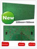 Semi-Outdoor P10 pH10 Green LED Display Module Board voor Indoor Sign 16*32 DOT Matrix
