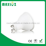 7W SMD GU10 MR16 LED Spotlight com PC Cover 110degree