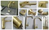 7 anni della filigrana dell'oro spazzolata garanzia di Pin della leva di serie di lusso del rubinetto