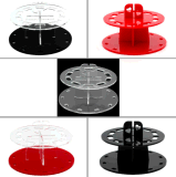 L'organisateur acrylique de balai de renivellement composent des meubles de présentoir pour l'étalage cosmétique