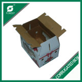 Gewölbte Farben-Druck-Karton-Kästen mit Griff