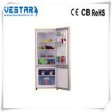Refrigerador leve da porta dobro de cor vermelha de Combi