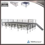 Fascio di alluminio esterno del tetto della fase di concerto con le ali sane