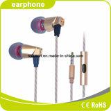 Buena prueba de sonido cómodos auriculares auriculares de viaje