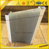 Extrusiones de aluminio OEM Disipador de aluminio para la transferencia de calor