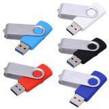 El controlador USB giratorio/USB flash driver/Controlador de memoria Flash/Pen Driver (KH T002)