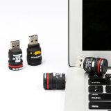 Presente personalizado movimentação da movimentação do flash do USB da pena do PVC