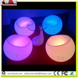 Muebles de Rotación China LED Apple Chair for Restaurant