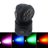 indicatore luminoso capo mobile della lavata di 7*12W RGBW 4in1 LED