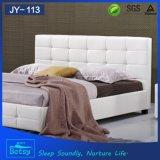 중국에서 호화스러운 디자인 가죽 둥근 침대