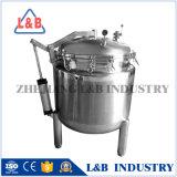 Nahrungsmittelprozessor-Manteldampf-Edelstahl-industrieller Dampfkochtopf
