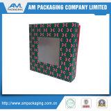 embalajes de cartón caja de cajas de envío con un plástico transparente ventana Galletas Caja