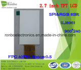 2,7-дюймовый 960*240/высокой яркости с широким углом просмотра TFT панели