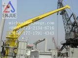 3t12m Foldableブームの船のデッキの準備クレーン