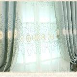 高品質の刺繍の停電の窓カーテンファブリック(08F0049)
