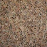Dernier cri du grain du bois de Cork cuir synthétique pour les chaussures, sacs, de mobilier (HS-D24)