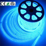 110V / 120V / 220V / 240V / 277V Coloridas 5050 RGB LED Strip Light com controlador