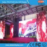 Schermo dell'interno di colore completo LED di HD P6.25 per uso locativo