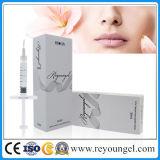 1 ml 2 ml de gel de l'hyaluronate Reyoungel fine de l'acide hyaluronique Injection acide pour enlever les conduites de soucis