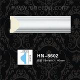El panel llano decorativo Hn-8602 de la cornisa del poliuretano de los moldeados de la PU