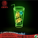 Outdoor Light Neon Sign for Food Shop Avertising Decoration
