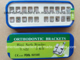 Кронштейн металла Roth ортодонтической сетки MIM низкопробный