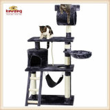 Sisal Cat Scratcher Tree & Cat Toys (KG0043)