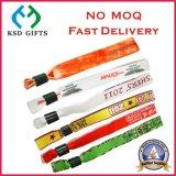 Hot Sale Bracelets Textile tissu personnalisé avec fermoir métallique