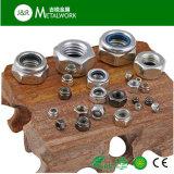 Écrou de blocage en nylon de garniture intérieure d'acier inoxydable d'A2 A4 DIN985 (SS304 SS316)