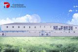 Casa da estrutura de aço pré-fabricadas no Prédio de Escritórios de fábrica