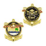 Distintivo dei premi e trofeo del medaglione di carnevale e medaglia di coraggio
