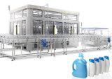 자동적인 애완 동물 물 병에 넣는 충전물 기계 레테르를 붙이는 기계를 완료하십시오