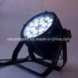 옥외 방수 DMX 가벼운 RGBW 18X10W LED 동위