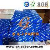 Papel colorido de excelente qualidade em embalagens de papelão