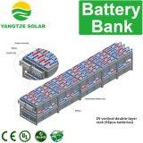 Banque de batterie solaire 12V 2000ah pour système d'énergie solaire Télécom