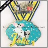 Медальон спортов с тесемкой медали для бежать (BYH-101140)