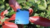 Lentille de lunettes de soleil de miroir de lentille de Tac polarisée par mode (bleu glacier de T)