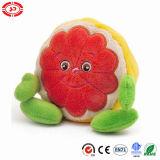 Le héros bourré par peluche de fruit badine le jouet mou de fait mignon de kiwi