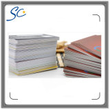 Impressão de PVC PVC Cartão de fidelidade com código de barras